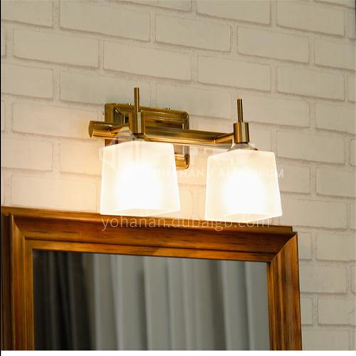 European style bathroom mirror lamp, bathroom mirror cabinet lamp, bathroom mirror lamp, dressing table lamp, makeup lamp, wall lamp-XJ-87282