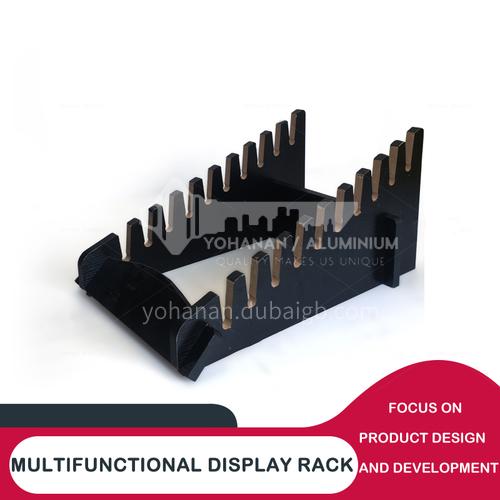 Ceramic sample display stand