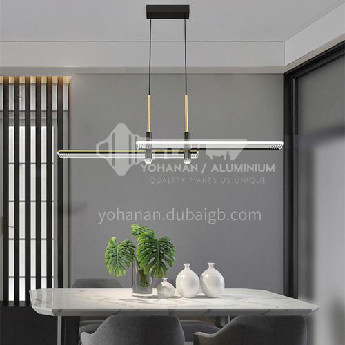 Dining room Nordic living room chandelier modern minimalist office bar counter LED lamps-OY-MD2080