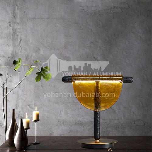 Modern Glass Table Lamp Nordic Light Luxury Creative Living Room Bedroom Table Lamp-JWJ-T150