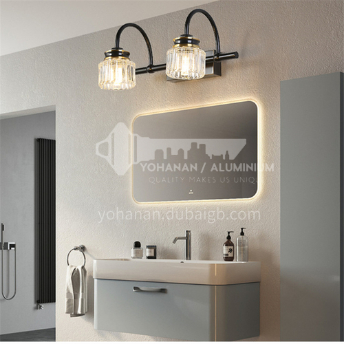 American mirror lamp, bathroom bathroom lamp, washbasin lamp, mirror lamp, Nordic makeup lamp, toilet wall lamp-XJ-87422
