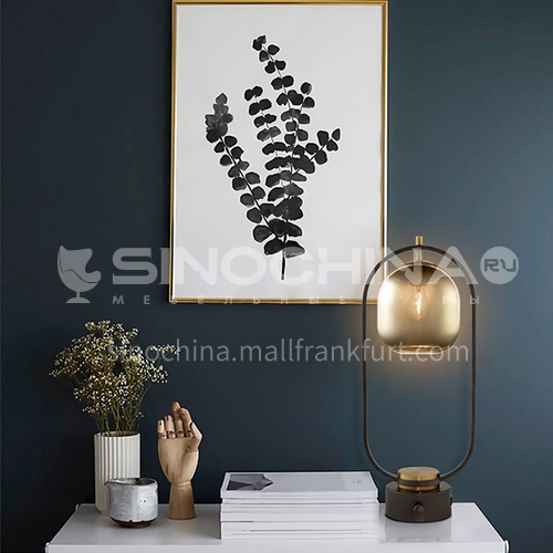 Modern master bedroom table lamp light luxury nordic living room study table lamp-JWJ-T221