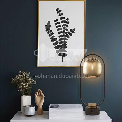 Modern master bedroom table lamp light luxury nordic living room study table lamp-JWJ-T221