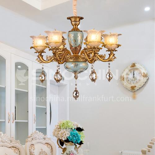 American chandelier living room lamp dining room bedroom modern minimalist European chandelier-BYM-9044