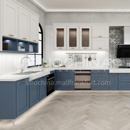 Modern style PVC with HDF design kitchen cabinet GK-822