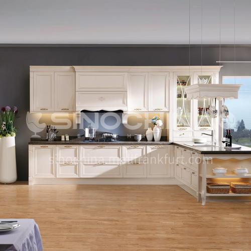 European style PVC with HDF kitchen GK-825