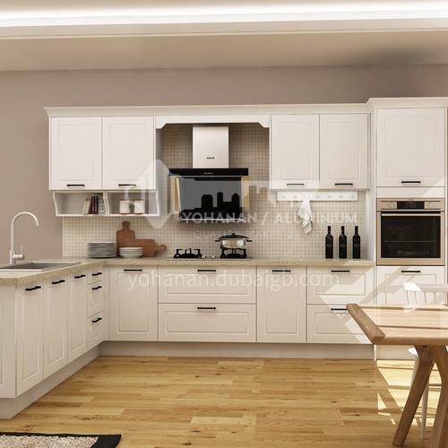 European style PVC with HDF kitchen GK-828