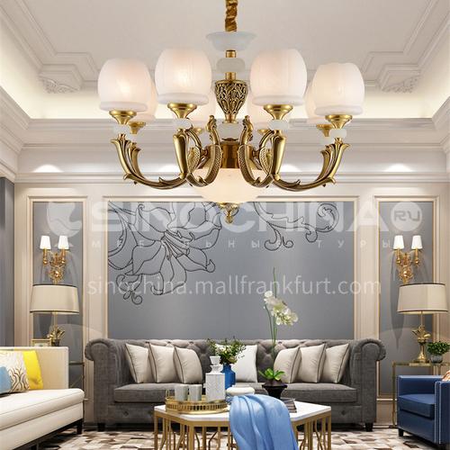 European style chandelier living room lamp luxury atmosphere crystal lamp home restaurant bedroom hall modern minimalist lamps BLSD-9052