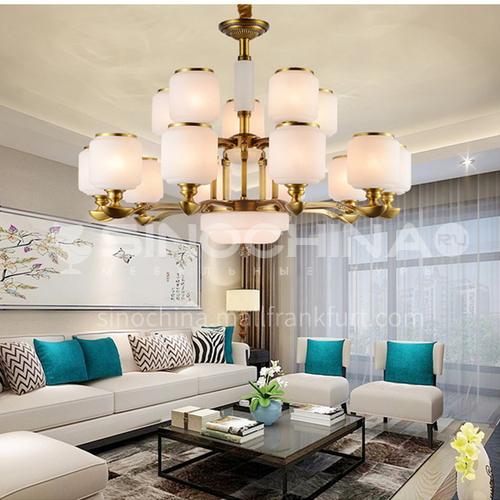 European style chandelier living room lamp luxury atmosphere crystal lamp home restaurant bedroom hall modern minimalist lamps BLSD-9030