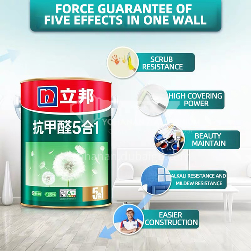 Nippon Formaldehyde free 5 in 1 interior Wall Paint