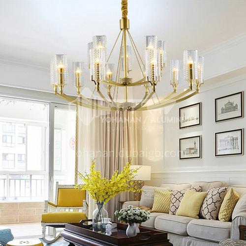 European style chandelier living room lamp luxury atmosphere chandelier home dining room bedroom hall modern minimalist chandelier BLSD-9055