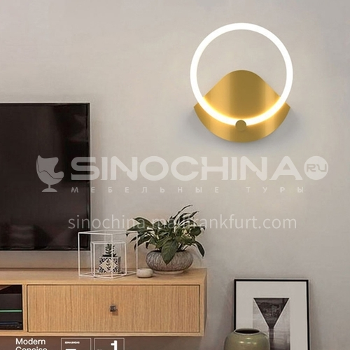 Modern wall lamp living room staircase TV wall lamp modern minimalist bedroom aisle bedside wall lamp YF-YY124