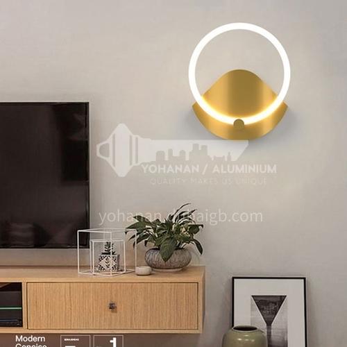 Modern wall lamp living room staircase TV wall lamp modern minimalist bedroom aisle bedside wall lamp YF-YY124