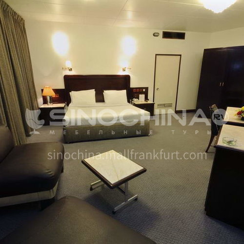 FFA0006-Customized design hotel furniture and modern wooden bedroom three-star hotel furniture sets, please contact customer service for customized products