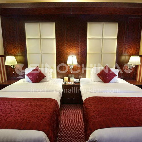 FFA0007-Customized design hotel furniture and modern wooden bedroom three-star hotel furniture sets, please contact customer service for customized products