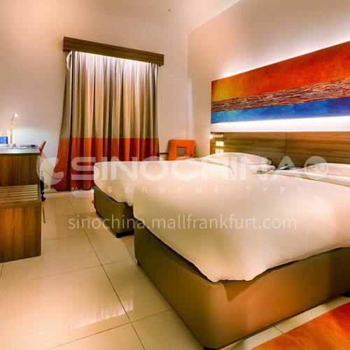 FFA0013-Customized design hotel furniture and modern wooden bedroom three-star hotel furniture sets, customized products, please contact customer service