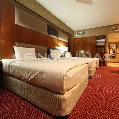 FFA0017-Customized design hotel furniture and modern wooden bedroom three-star hotel furniture set, customized products, please contact customer service
