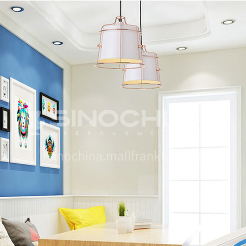 Bedside chandelier modern minimalist Nordic bedroom bedside lamp creative minimalist restaurant bar chandelier-ZMX-NMC5626A