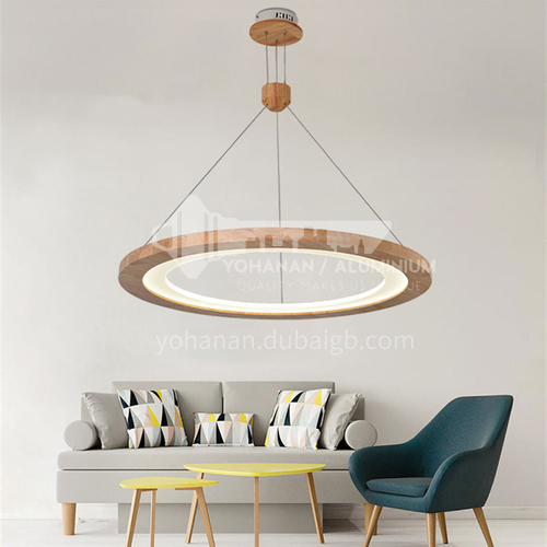 Creative log chandelier personality living room dining room led bedroom porch Nordic chandelier-ZMX-NMC5812D