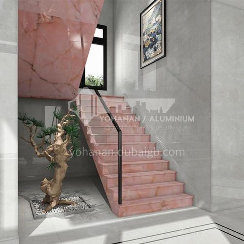 Natural pink jade staircase O-FE86Y
