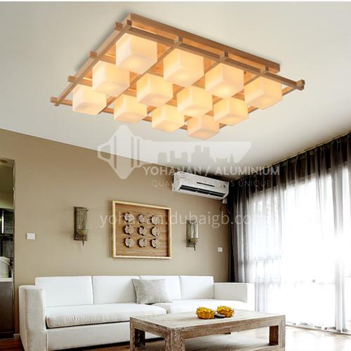 Living room lamp Nordic ceiling lamp log bedroom lamp dining room log ceiling lamp ZMX-NMX1028