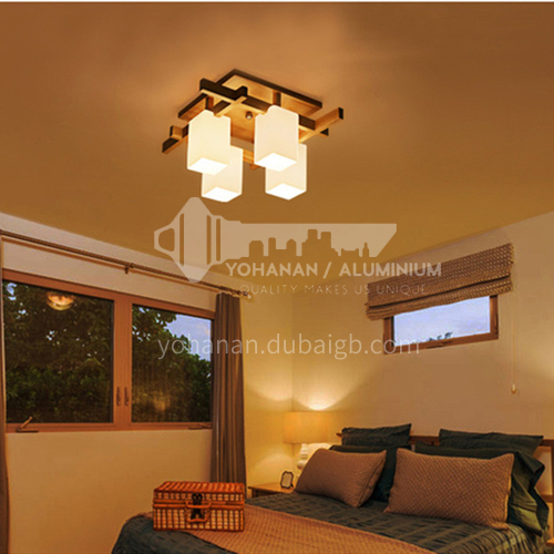 Nordic ceiling lamp modern living room lamp LED log bedroom lamp dining room ceiling lamp ZMX-NMX1055