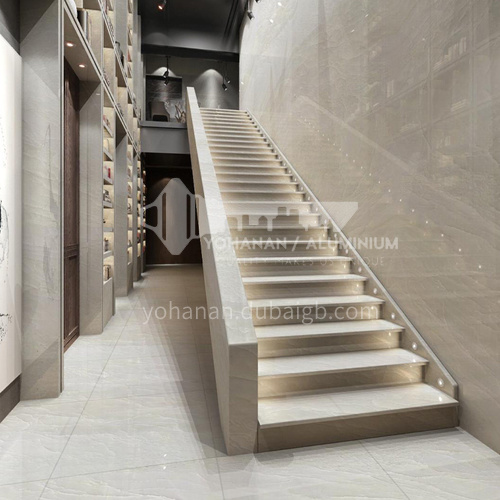 Natural blue luxury modern jade staircase O-HF00B