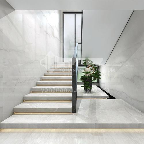 Natural gray modern marble staircase M-KA04S