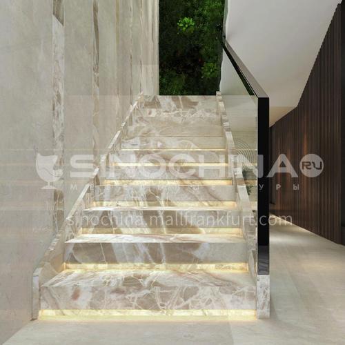 Natural Yellow Hot Selling Jade Stairs O-SB80X