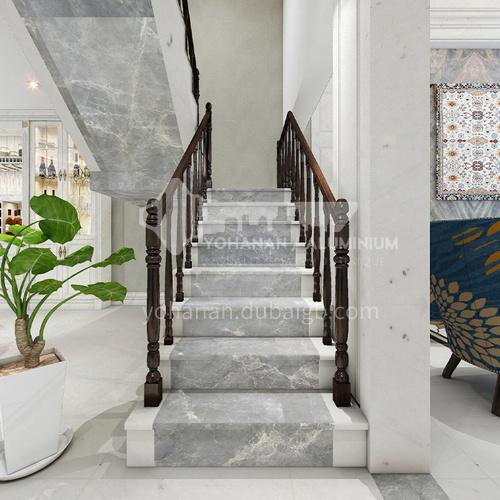 Natural gray modern marble staircase M-YA60D
