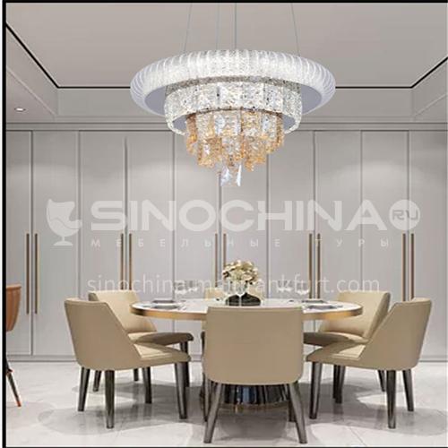 Crystal living room chandelier simple modern chandelier atmosphere bedroom dining room chandelier-JTL-39882