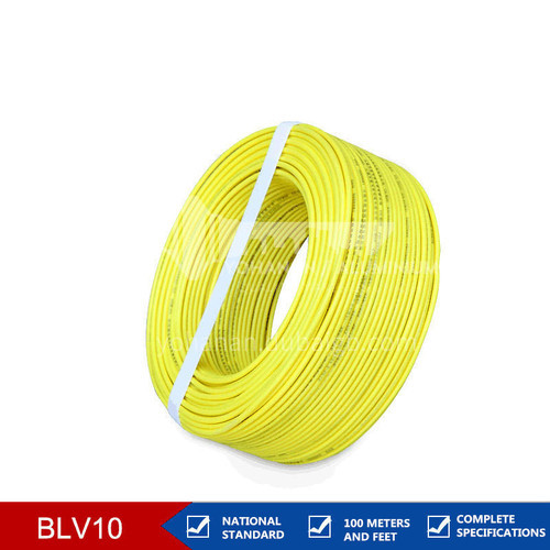 10mm² BLV Aluminium Core Electric Wire PVC Coated Insulated  Electric Wire and Cable