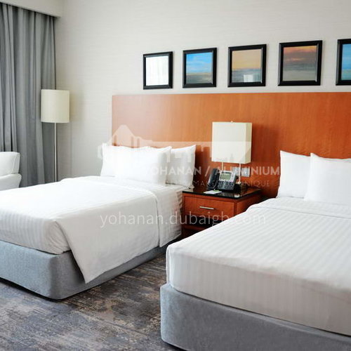 FF0027 Custom design hotel furniture and modern wooden bedroom, four-star hotel furniture set, please contact customer service for customized products