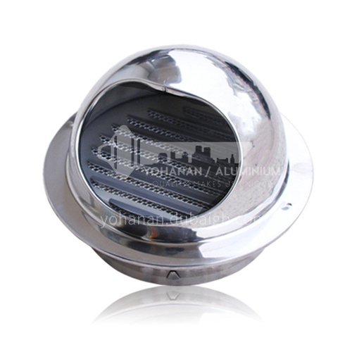 Stainless steel kitchen air outlet