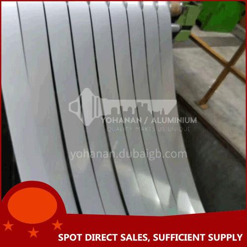 Stainless steel slitting tape