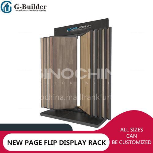 Multi functional sample display stand
