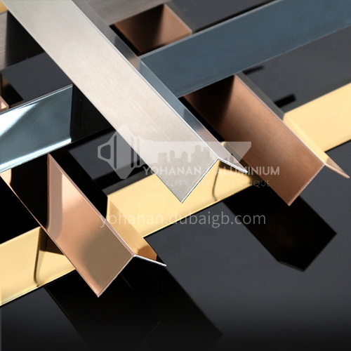 Stainless steel L groove
