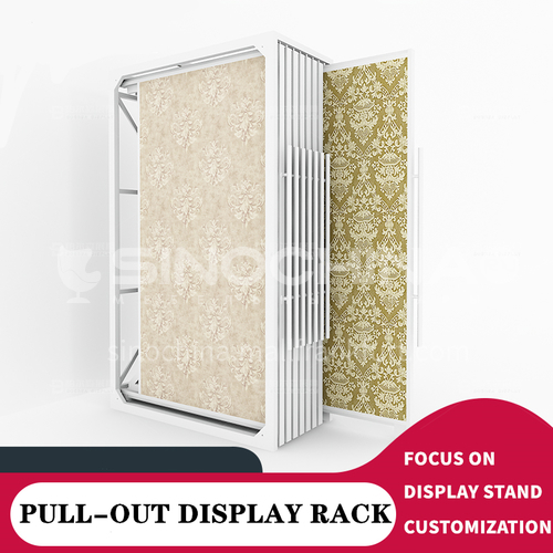 Multifunctional ceramic tile display rack