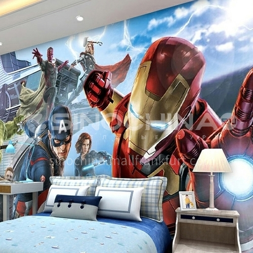 Children cartoon style Avenger alliance series TV background wall bedside background wallpaper   FC-FCZ
