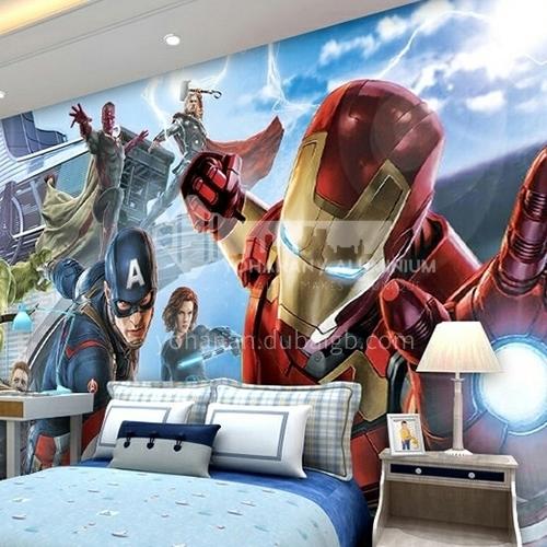 Children cartoon style Avenger alliance series TV background wall bedside background wallpaper   FC-FCZ