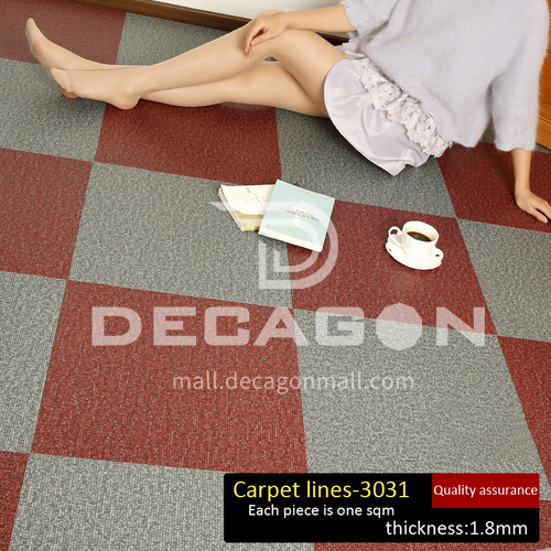 1.8mm thickness PVC composition flooring QH3031