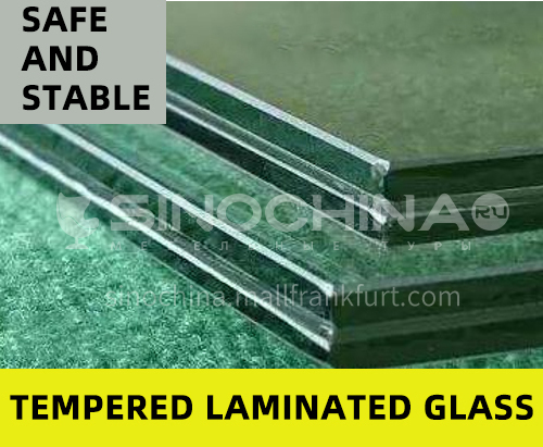High quality laminated glass tempered