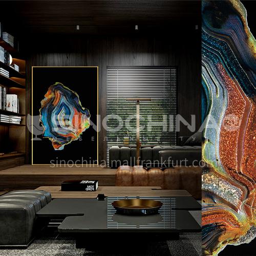 Modern light luxury Yicai colored glaze craft handmade art decorative painting wall painting 19S-Glaze 1