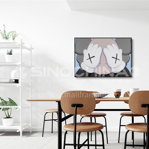 Modern Art Deco Painting Electric Meter Box Blocking Painting 19S-DX15