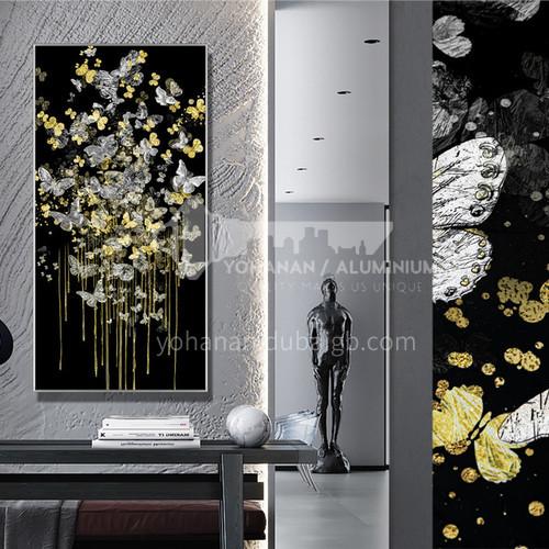 Modern light luxury Yicai colored glaze craft handmade art decorative painting wall painting 19S-Glaze 13