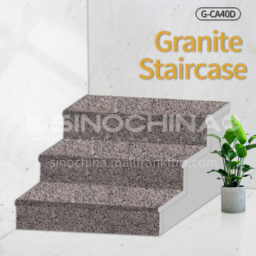Natural granite stairs, non-slip stepping stone G-CA40D