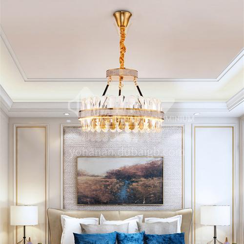 Light luxury chandelier modern crystal living room lamp simple home dining bedroom nordic lamp-JH-2020