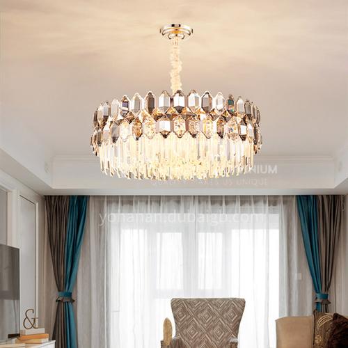 Light luxury crystal chandelier living room modern luxury dining room atmosphere villa apartment simple lamp-JH-2009
