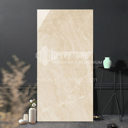Simple and modern full-body marble living room TV background wall tiles-WLKYLMH-Y 800*1600mm