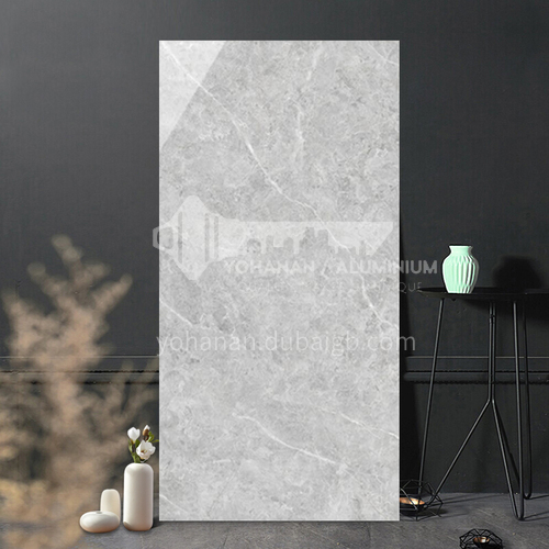 Simple and modern full-body marble living room TV background wall wall tiles-WLKYBH-G 800*1600mm